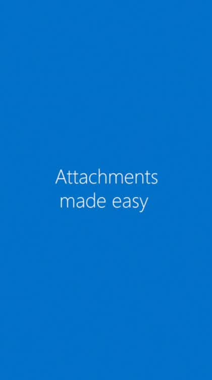 Attachments made easy