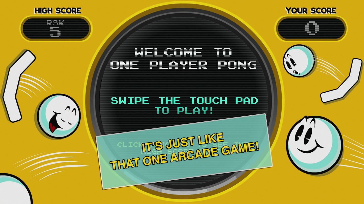 One Player Pong