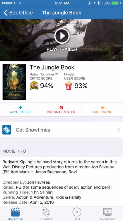 Rate movies