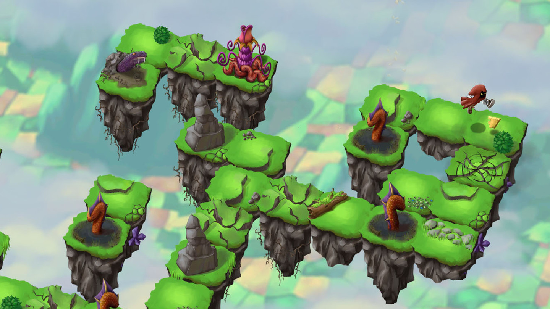 Sky Hop Saga - Endless Arcade Hopper