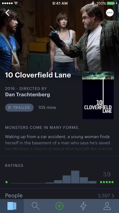 Track movies
