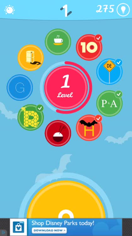 Unlock levels and get free hints