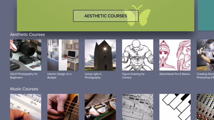 Browse the courses