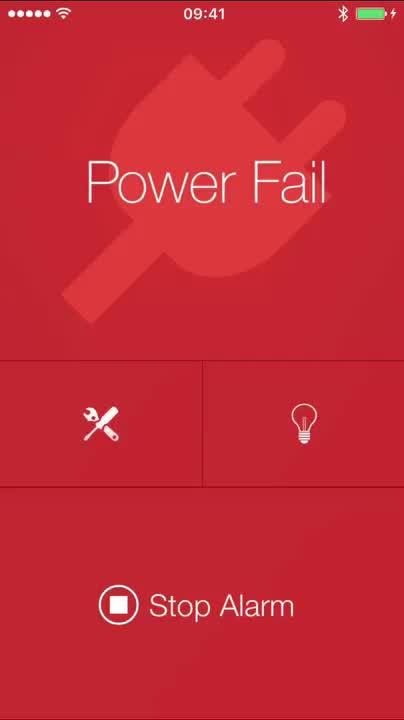 Test alarm