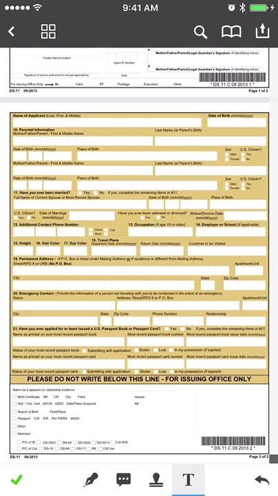Fill out forms