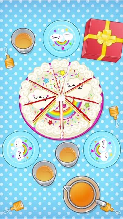 Eat the birthday cake