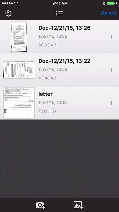 Scan any document and share it