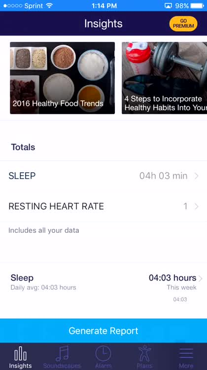 Sleep Tracking Insights