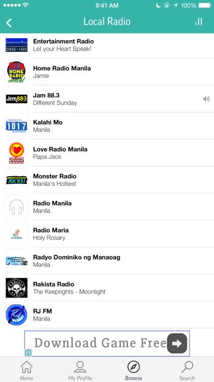TuneIn and chime in