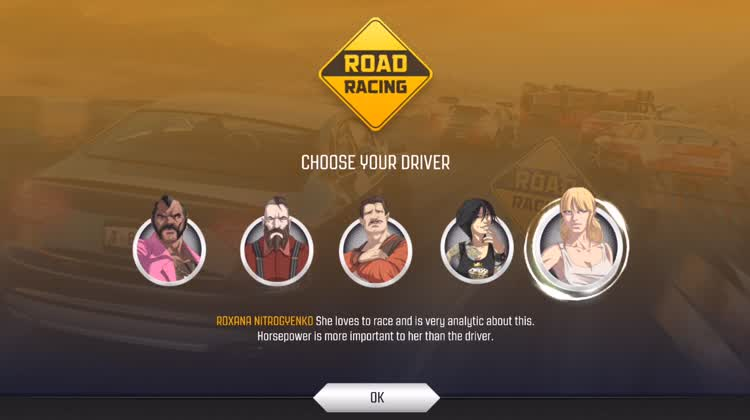 Choose your driver