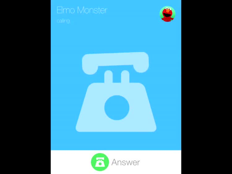 Elmo is calling