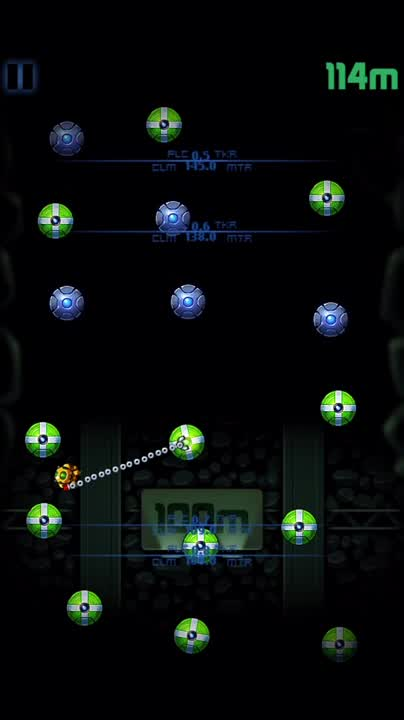 Grapple explosive nodes