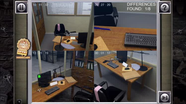 Check the security camera images