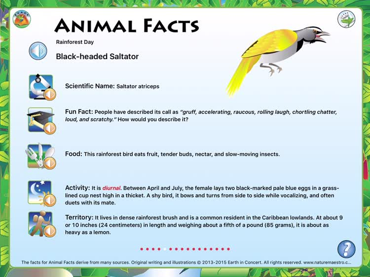 Discover fun facts about animals and the environment