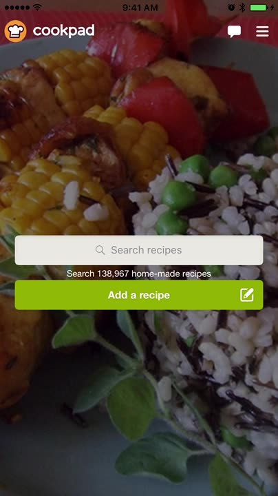 Search, browse and get cooking idea for your dinner