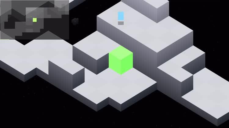 Cube Climbing Action