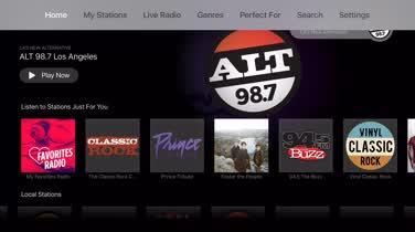 Tune in on Apple TV