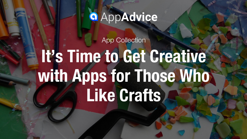 Time to get creative with apps for those who love crafts