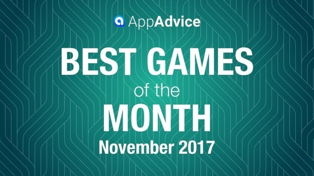 Best Games Of November 2017