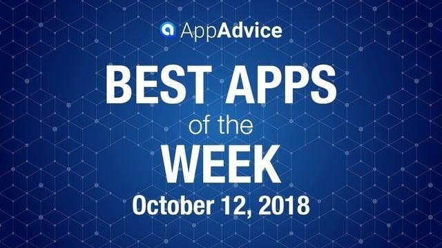 Best Apps of the Week Oct. 12, 2018