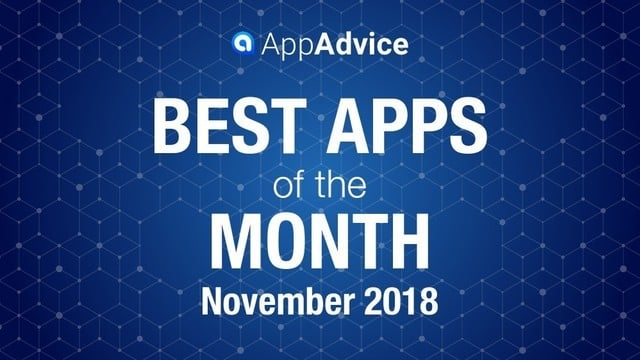 Best Apps of the Month November 2018