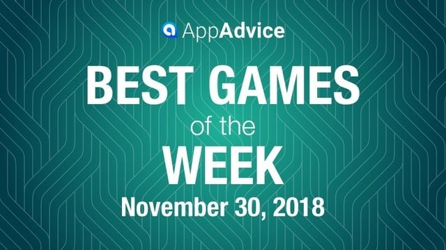 Best Games of the Week November 30, 2018