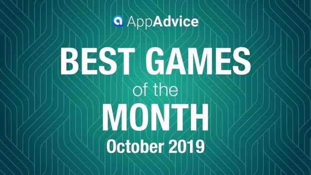 Best Games of October 2019