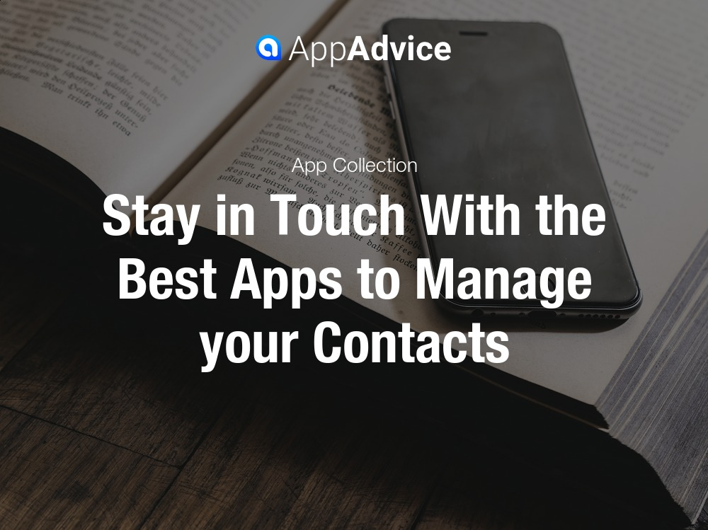 Apps For Managing Your Contacts