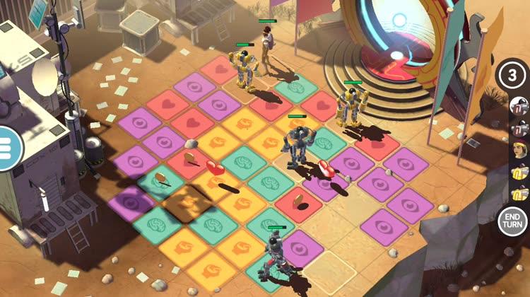Turn-based battles