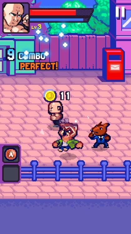 Fun arcade brawler