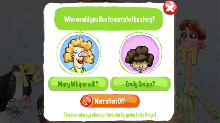 Enjoy the interactive storybook