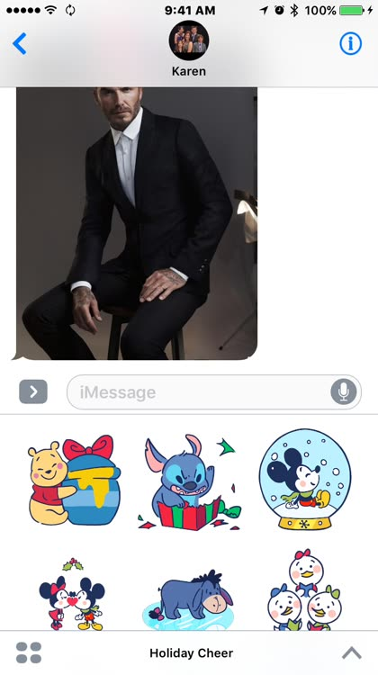 Check out all of the holiday iMessage stickers