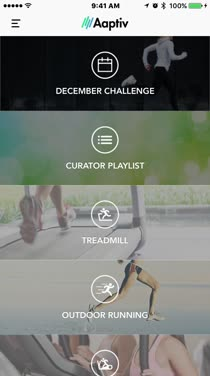 See the Different Guided Workouts Aaptiv Offers