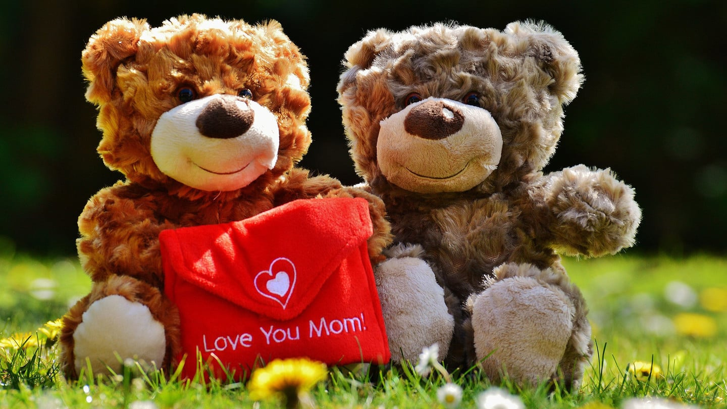 Teddy Bears Love Mom
