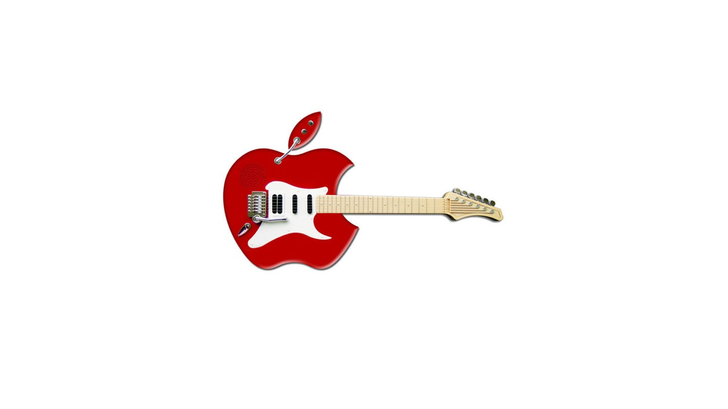 Apple Electric Guitar