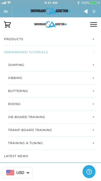 Snowboard Addiction Tutorials