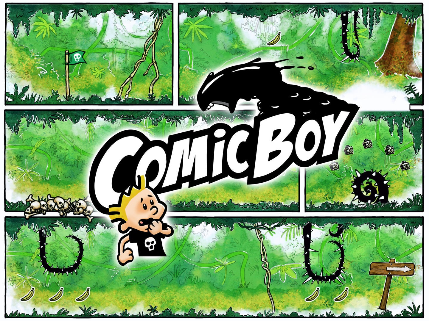 Try to Escape a Colorful World in the New Platformer Comic Boy