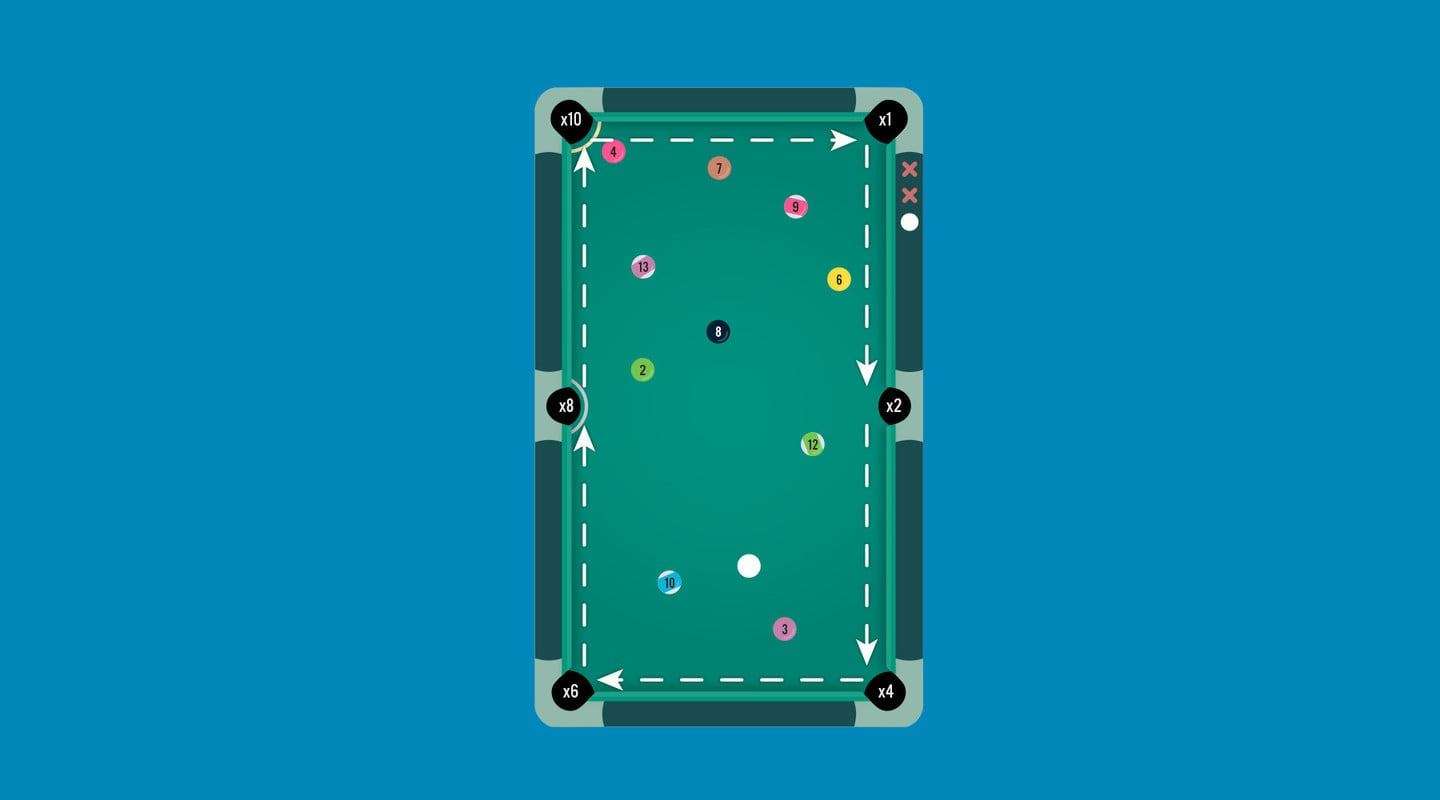 Pocket Run Pool Brings a Fun Twist to A Single-Player Arcade Game