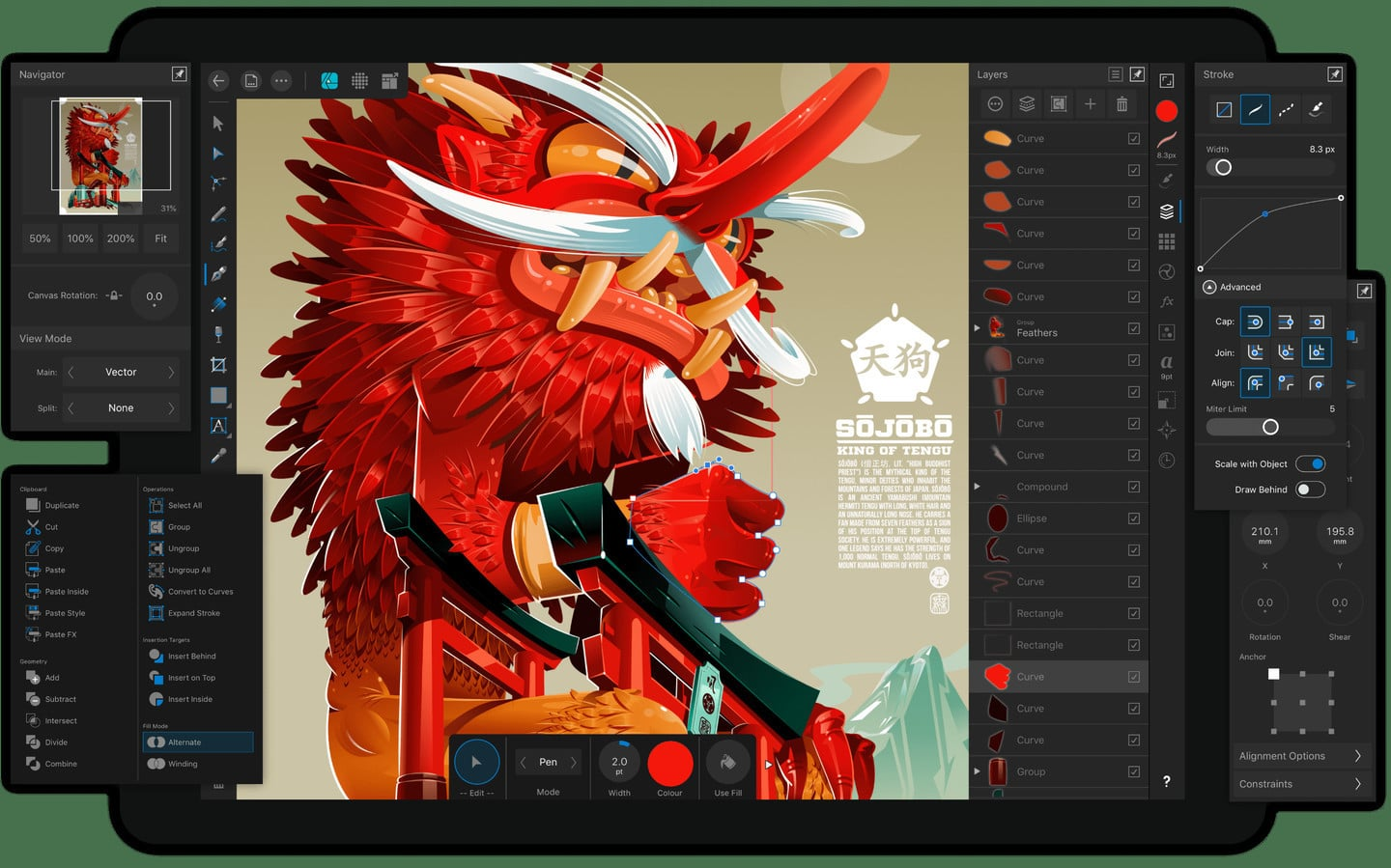 Professional Grade Illustrator App Affinity Designer Lands on the iPad