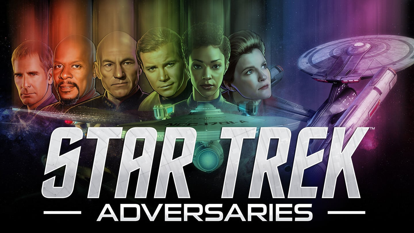 It's Time to Engage With Star Trek Adversaries, a Collectible Card Game