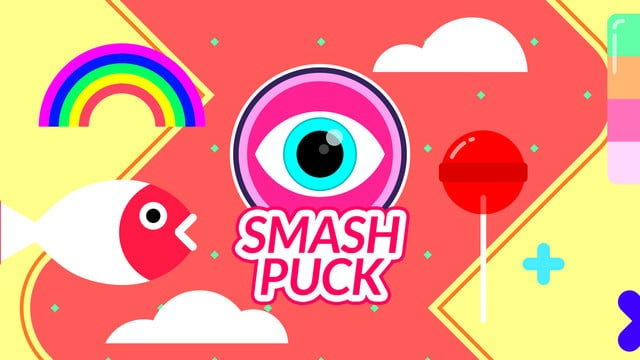 Smash Puck is a Wild Sports Game Mashup