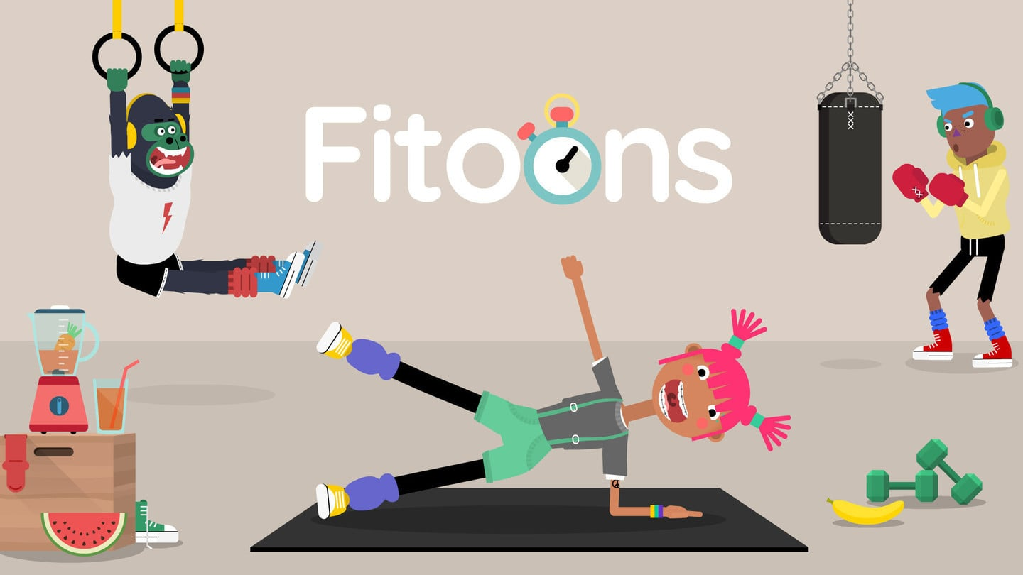 Fitoons Teaches Kids About Healthy Eating and Lifestyles in a Fun Environment