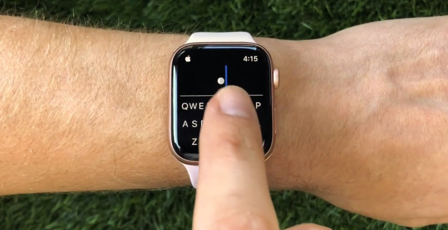 FlickType Brings a Truly Easy-to-Use Keyboard to Apple Watch