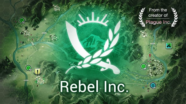Political and Military Strategy Simulation Rebel Inc. Infects the App Store