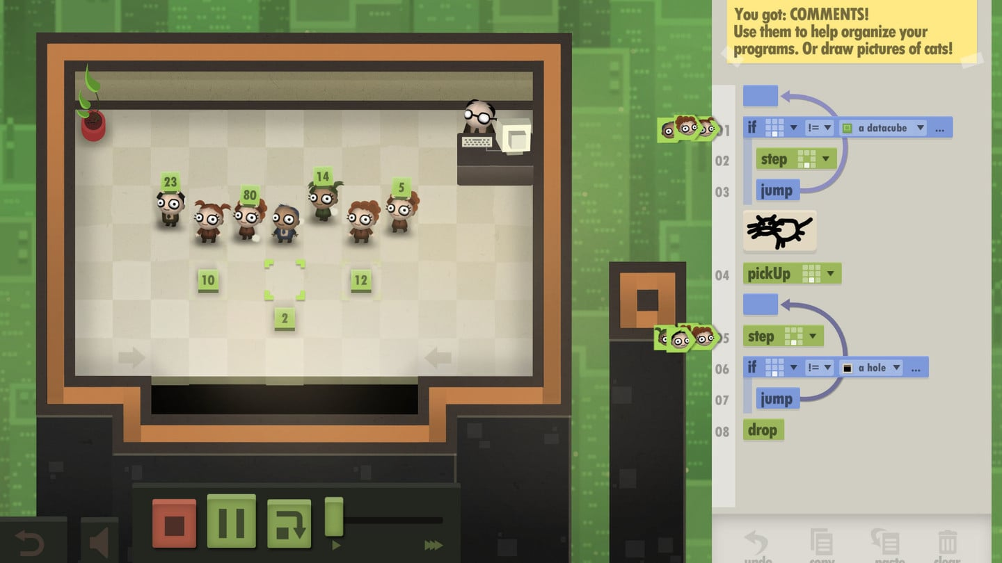 Automate a Swarm of Office Workers to Solve Puzzles in 7 Billion Humans