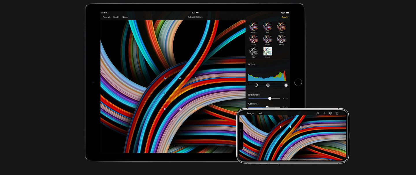 Photo Editing App Pixelmator Now Optimized for the Latest iPad Pro Models