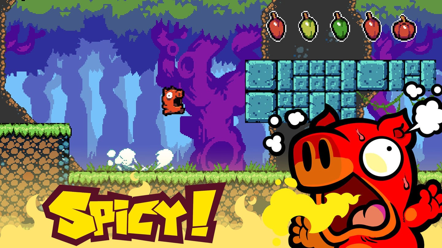 Can You Stand the Heat in the Hot New Platformer Spicy Piggy?