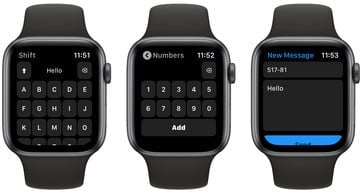 Shift Keyboard Provides a Great Way to Enter Text on Apple Watch