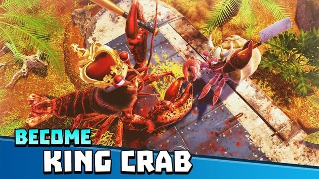 It's a Crustacean Battle Zone in King of Crabs