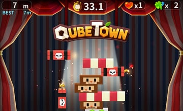 Latest QubeTown Update Adds Moles, Town Skins and New Mini-Game